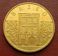 Польша 2 злотых 2007 г., ' Брзек ', фото 1