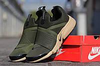 Кроссовки Nike Air Presto летние зеленые