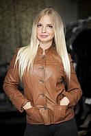 Куртка - пиджак, натуральная кожа (жатка)