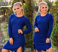 Платье вязаное д3811