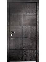 Элитные входные двери для дома (массив ясеня) модель Квадрат