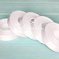 Сатиновая лента (18 мм) белая