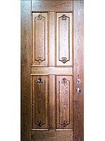 Элитные входные двери для дома (массив ясеня) модель Монтана