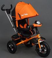 Велосипед трехколесный 6590 (бронзовый, голубой. желтый,красный, оранжевый, розовый, салатовый, фиолетовый) KK