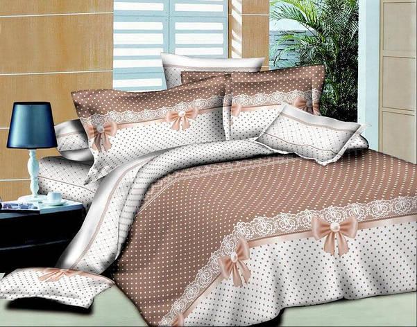 Комплект постельного белья евро 200*220 хлопок  (4388) TM KRISPOL Украина, фото 2