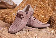 Летние мужские туфли, мокасины