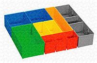Комплект контейнеров для мелких деталей Bosch I-BOXX 72 INSET BOX, 10 ШТ