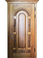 """Элитные уличные входные двери (массив ясеня) модель """"Флоренция 1"""""""