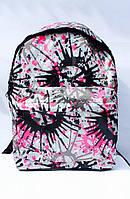 Ранец Рюкзак Стильный Городской мягкий с карманом, подростковый Воображение DSCN0615-B-1