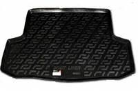 Резиновый коврик в багажник  Kia Rio II SD 05-11 Lada Locer (Локер)