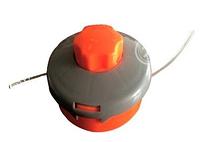 Косильная головка для триммера Forte DL-3227 (2.4 мм х 3 м) полуавтоматическая