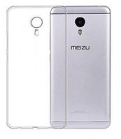 Чехол бампер для Meizu m3 mini прозрачный