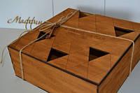 Коробка подарочная из дерева., фото 1