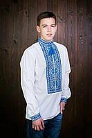 Сорочка вышиванка для мальчика лён