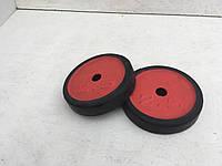 Блины для штанги и гантелей 2,5 кг (обрезиненные)