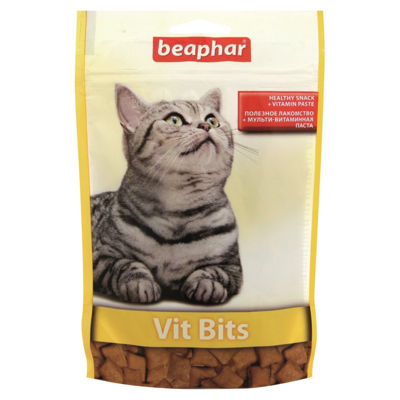 Vit-Bits подушечки з мульти-вітамінної пастою Beaphar
