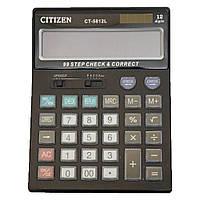 Калькулятор CITIZEN 5812,  двойное питание