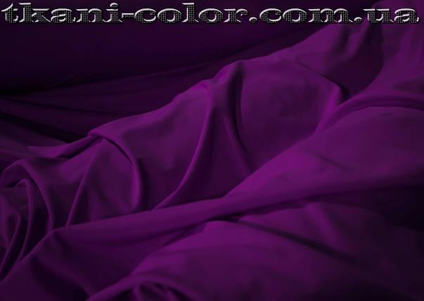Микродайвинг трикотаж фиолетовый, фото 2