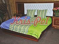 Комплект постельного белья полуторный 150х220, (6022) Голд хлопок