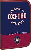"""490905 Папка для труда пласт, на молнии  с внутр, карманом FC """"Оксфорд"""""""