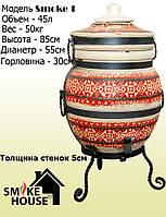 Тандыр Smoke 1. Вышиванка красный
