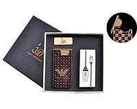 """Электроимпульсная USB зажигалка """"Giorgio Armani"""" №4767-3, модный гаджет, прикуриваем без проблем, подарочная"""