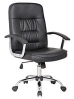 Вращающейся кресло офисное из эко-кожи