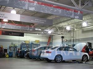 Установка видеонаблюдения в автосалоне и СТО