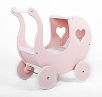 Деревянная коляска кукол PETIT LANDAU MADELEINE