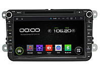 Штатная магнитола Incar AHR-8684 для Volkswagen Caddy, Passat, Golf, Tiguan, Touran, Jetta, CC Android 4.4.