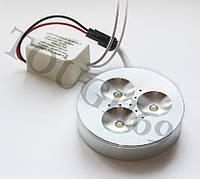 Мебельный светодиодный светильник LED 3w DL-301