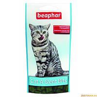 Cat-A-Dent Bits подушечки для чистки зубов и от плохого запаха из пасти кошек Beaphar