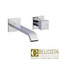 Настенный смеситель для раковины с отдельными розетками Bellosta B-Uno 01-7905/3/B Хром