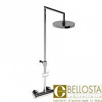 Термостат с душевой колонной и круглым верхним душем D 200 Bellosta Mose 01-8811/4A Хром