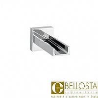 Каскадный открытый излив для ванны, настенного монтажа Bellosta Beethoven 01-7703 Хром
