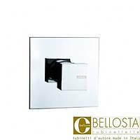 Встраиваемый переключатель на два положения Bellosta B-Uno 01-7703/2/1 Хром