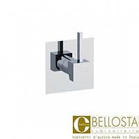 Встраиваемый переключатель на два положения Bellosta Zehn 01-7503/2/1 Хром