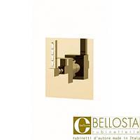 Встраиваемый переключатель на четыре положения Bellosta F-Vogue Bijoux Swarovski 71-3303/4 Матовое Золото