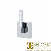 """Встраиваемый кран быстрого потока 1""""  Bellosta F-Vogue Bijoux Swarovski 01-3340/1 Хром"""