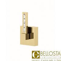 """Встраиваемый кран быстрого потока 1""""  Bellosta F-Vogue Bijoux Swarovski 71-3340/1 Матовое Золото"""