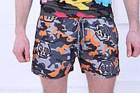 Плавательные шорты Philipp Plein в стиле милитари