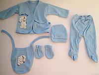 Набор для новорожденных собачка 5 единиц