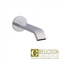 Настенный излив для ванны с круглой розеткой Bellosta M-Uno/M-Due 01-8903 Хром
