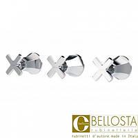 Встраиваемый смеситель для душа с переключателем на два потока Bellosta Stresa 01-1700/3 Хром