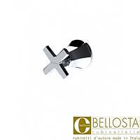 Встраиваемый переключатель на четыре положения Bellosta Stresa 01-1703/4 Хром