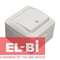 Выключатель 1-кл проходной IP54 El-Bi EVA 554-011500-209