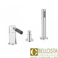 Смеситель для установки на борту ванны в три отверстия, без рычага Bellosta N-Joy 01-0101/20/A Хром