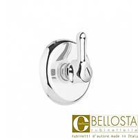 """Встраиваемый вентиль 1"""" для быстрого потока Bellosta Romina 01-0340/1 Хром"""