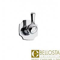 """Встраиваемый вентиль 3/4"""" для быстрого потока Bellosta Romina 01-0340/K Хром"""