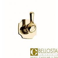 """Встраиваемый вентиль 3/4"""" для быстрого потока Bellosta Romina 04-0340/K Золото"""